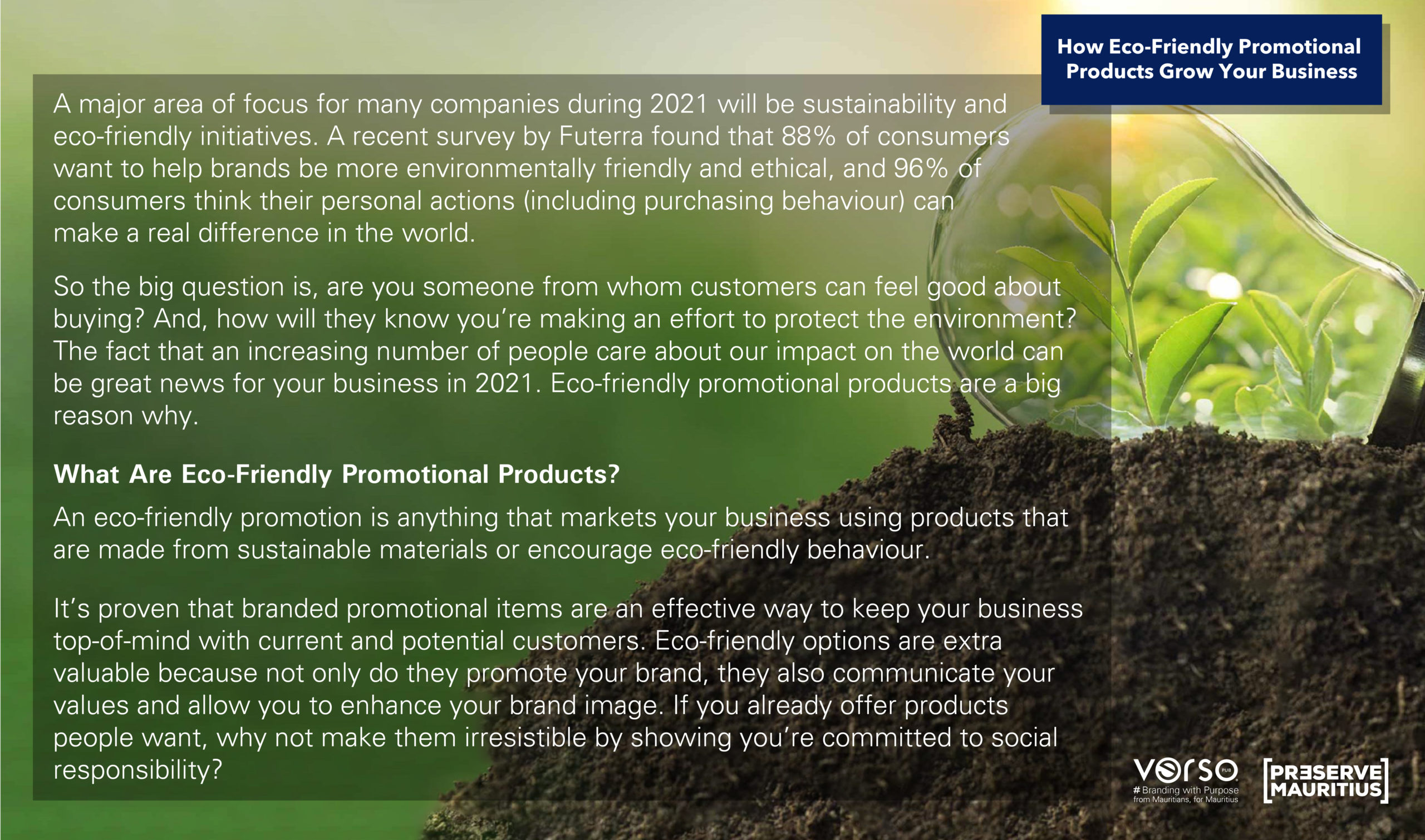 How Eco-Friendly Promotional Products Grow Your Business